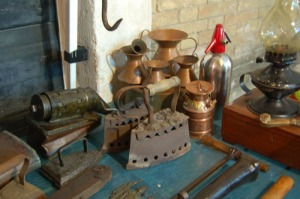 I loved this stall 'Any Old Iron' !