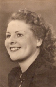 My lovely Mum in the 1940's I think.