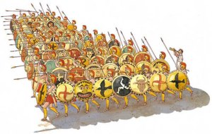 Roman Soldiers...we had no  javelins in the PO though...thank goodness!!
