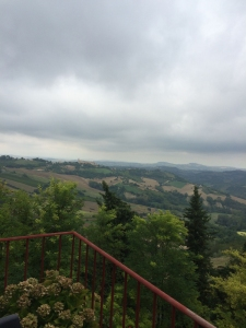Winter Sky over Le Marche 3rd September 1014