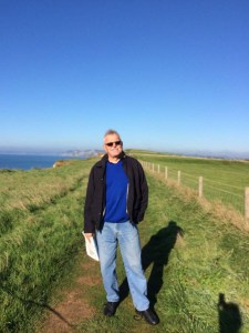 The Man enjoying the Coastal Path