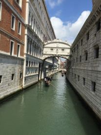 The famous Bridge of Sighs...