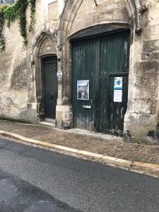 door to hotel