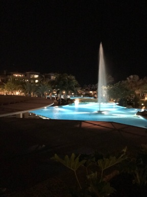 lopesan at night