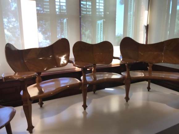 Some of the furniture
