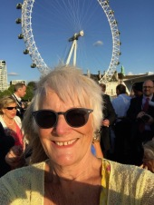 Me in front of London Eye