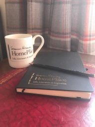 Mug and notebook