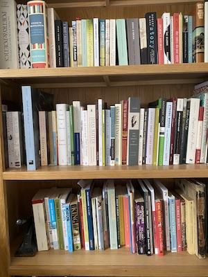 My book shelf